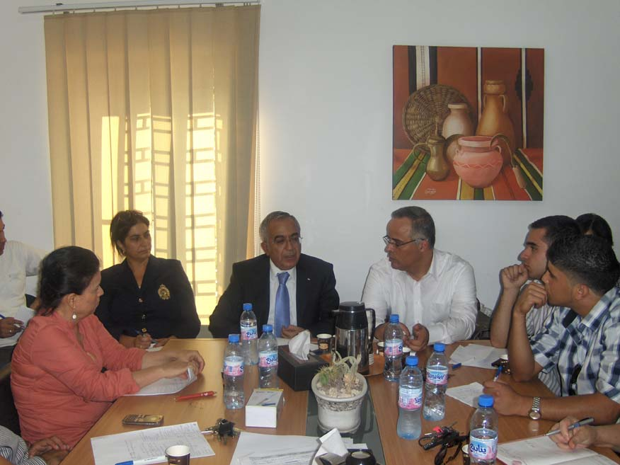 workshop with PM Salam Fayyad- 13-9-2012